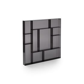 Black acrylic square type case