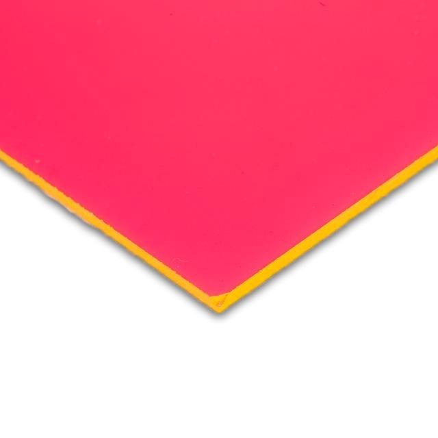 Pink Acrylic Fluorescent
