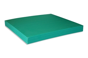 Square Green Foam
