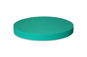 Round Polyethylene foam sheet green