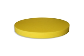 Round Polyethylene foam sheet yellow