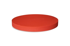 Round Polyethylene foam sheet red