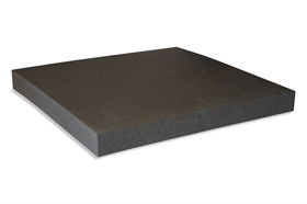 Squared Polyethylene foam sheet black