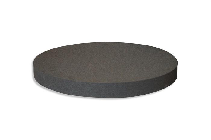 Round Polyethylene foam sheet black