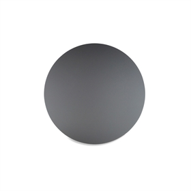 Round Frosted Dark Grey Perspex<sup>®</sup>