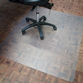 Office chair mat with anti-slip 900 x 1200 mm