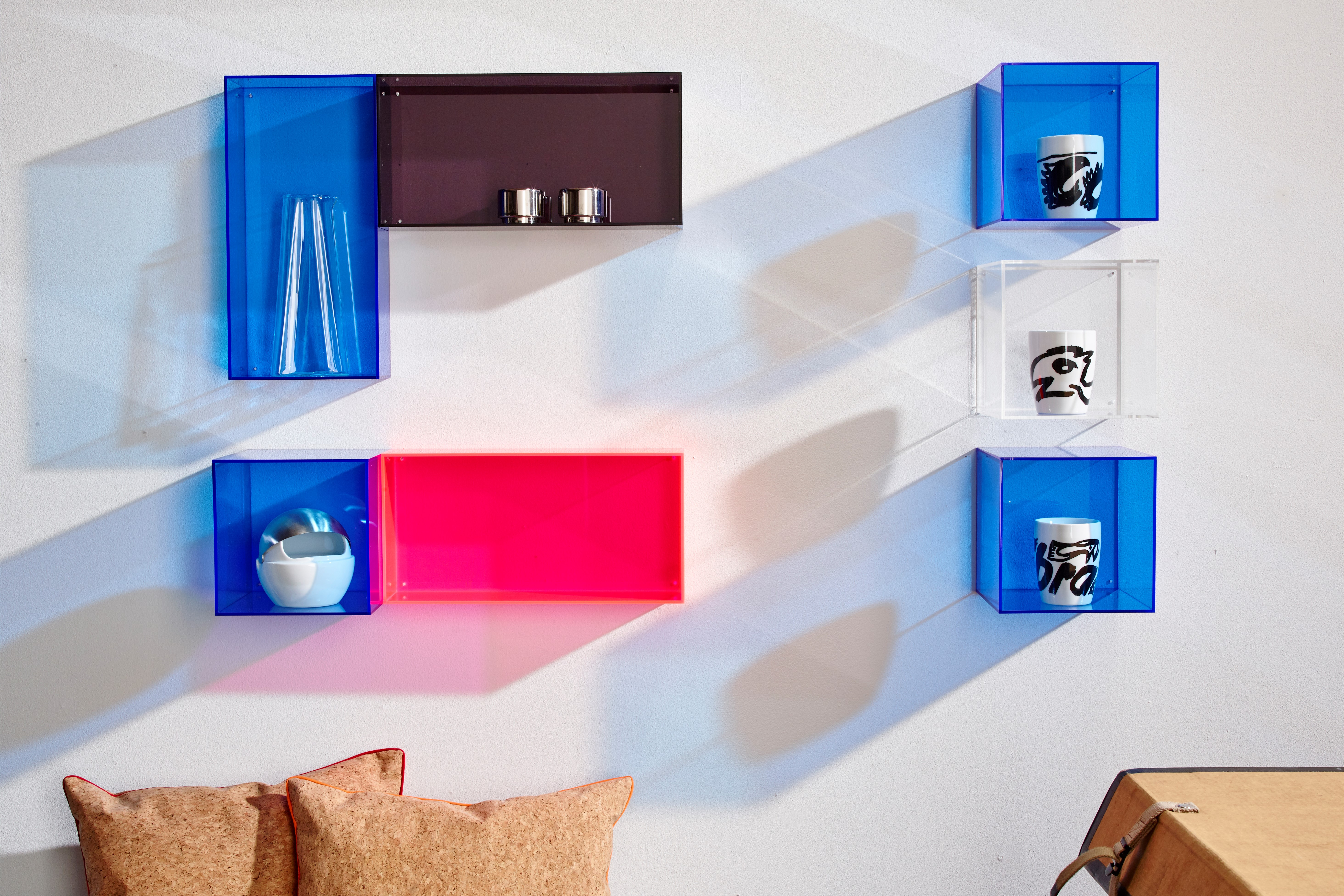 Acrylic boxes and interior design