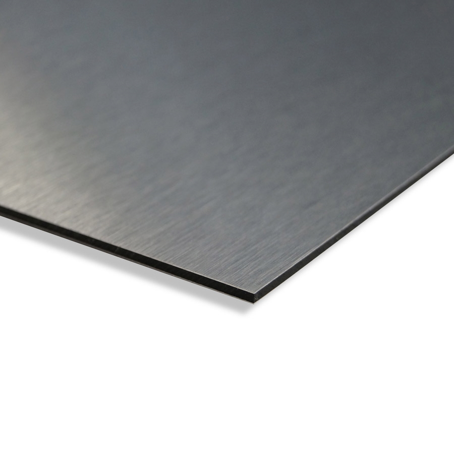 Brushed Steel Plastic Sheet Sandwich Sheet Cut To Size